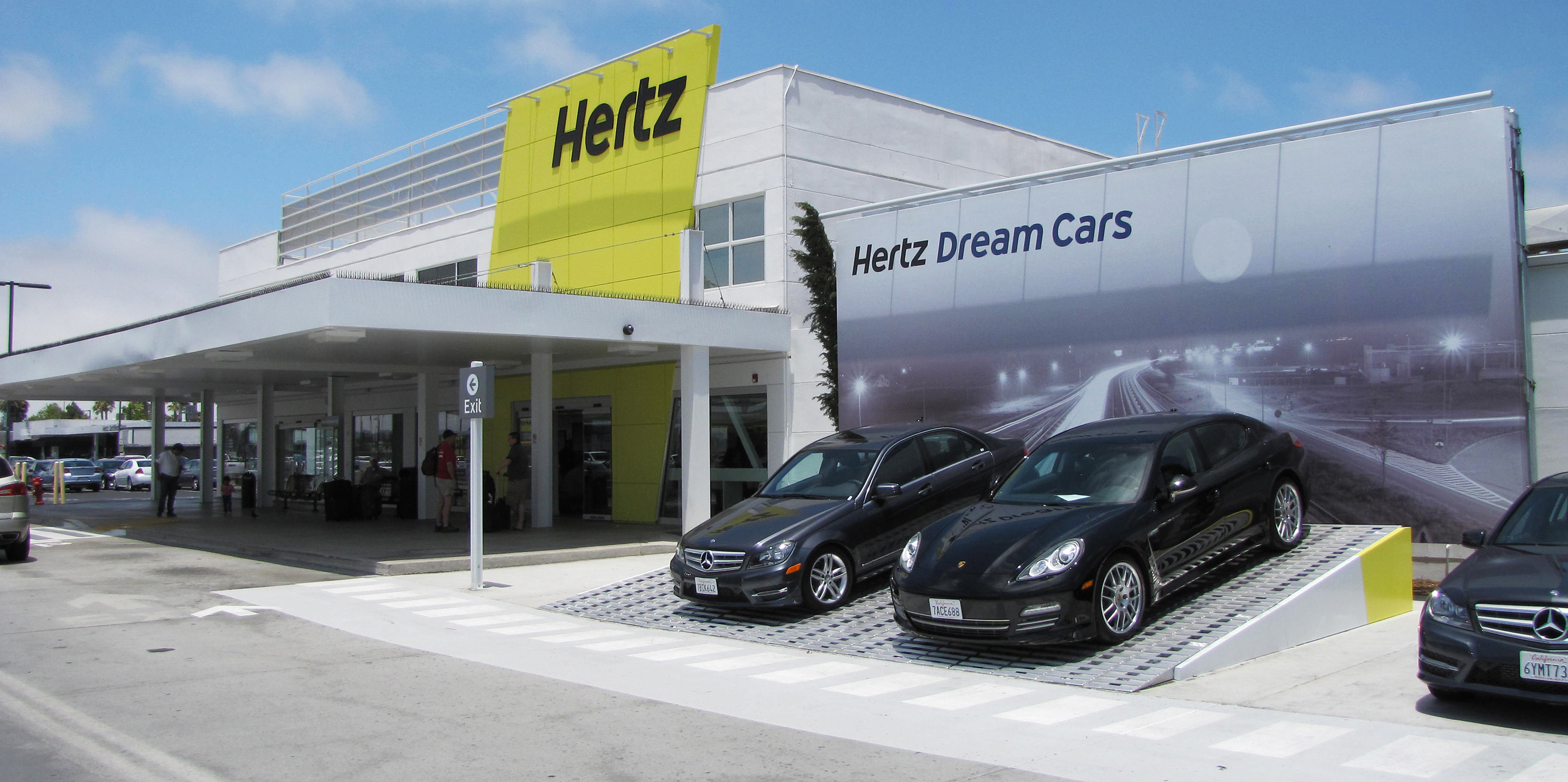 San Jose Airport Hertz Rental Car Return